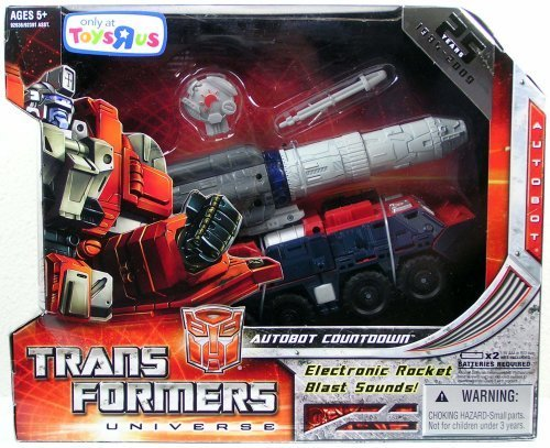 Transformers Universe Ultra Exclusive Generation Series 1 Autobot Countdown ()