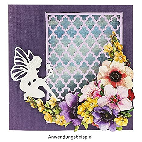 Festive lantern cutting template 12 cm x 4 cm pendants and greeting cards suitable for standard die-cutting machines stencil for designing card toppers