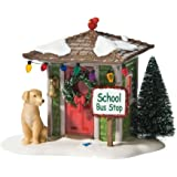 Department 56 Snow Village Waiting for the Bus Accessory Figurine