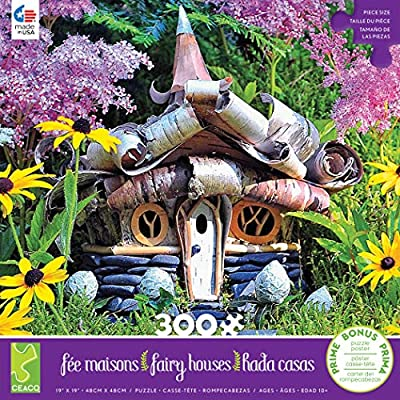 Ceaco 2248-5 Fairy Houses Alpine Cottage - 300Piece: Toys & Games
