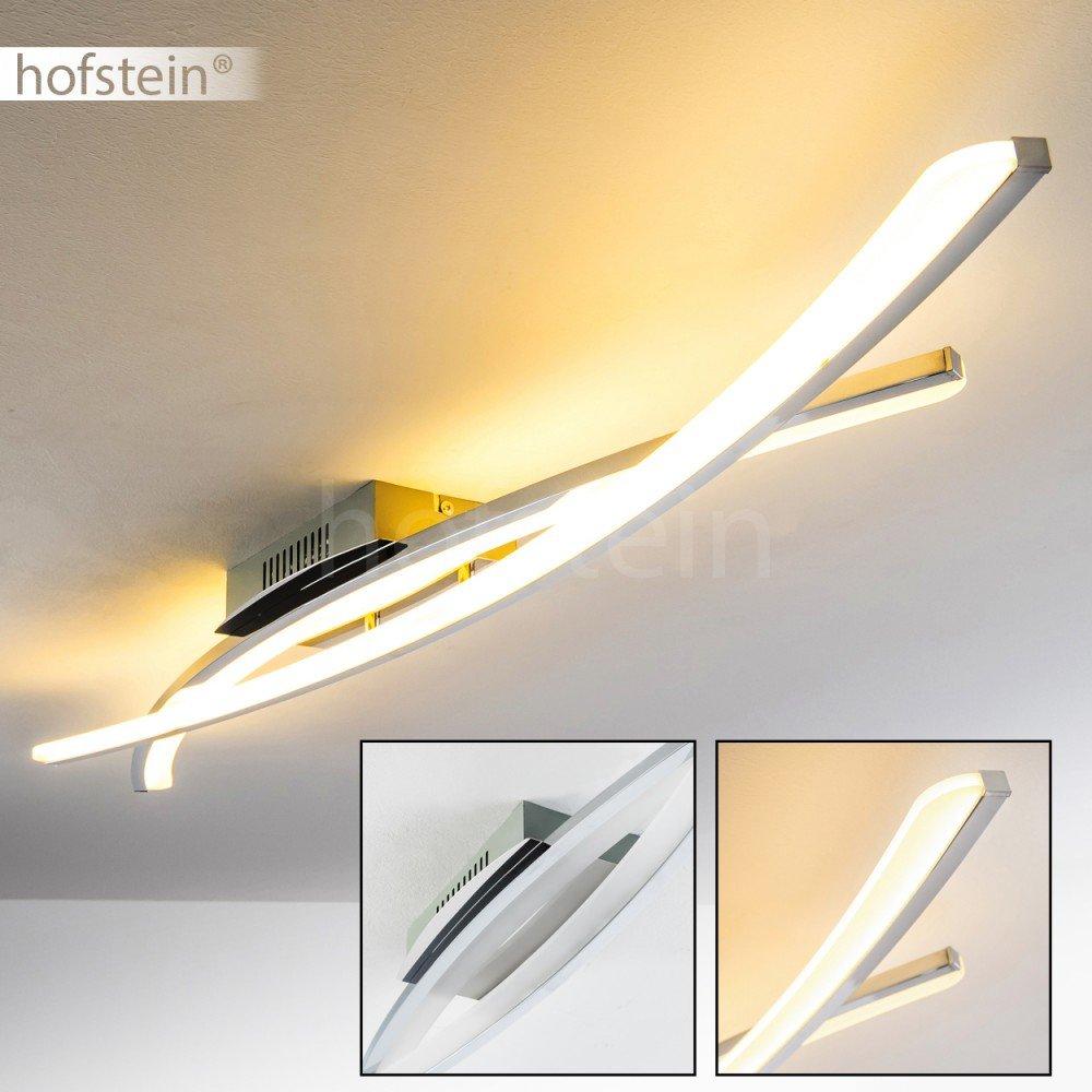 LED Decken-Leuchte Orgia – 3000 Kelvin warmweißes gemütliches Licht ...