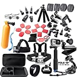 Andoer 45 in 1 Camera Accessories Cam Tools for Outdoor Photography Cameras Protection Tool for Gopro Hero 5 4 3 2 1 Xiaomi Yi Xiaomi Yi 4 k SJCAM SJ4000 SJ5000 SJ6000 SJ7000 EKEN H9R H8W