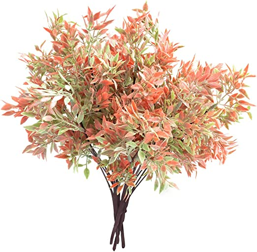 Amazon Com Atoful Christmas Artificial Flowers For Outdoor Indoor