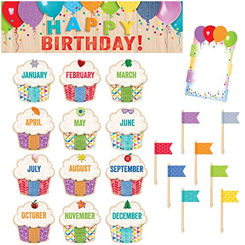 Creative Teaching Press Upcycle Style Happy Birthday! Mini