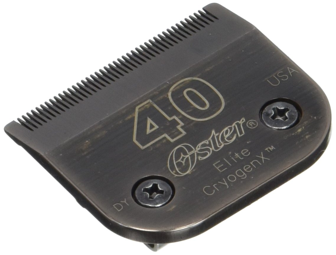 Oster Elite CryogenX Professional Pet Clipper Blade, Size 40 (0-34264-41670-3)