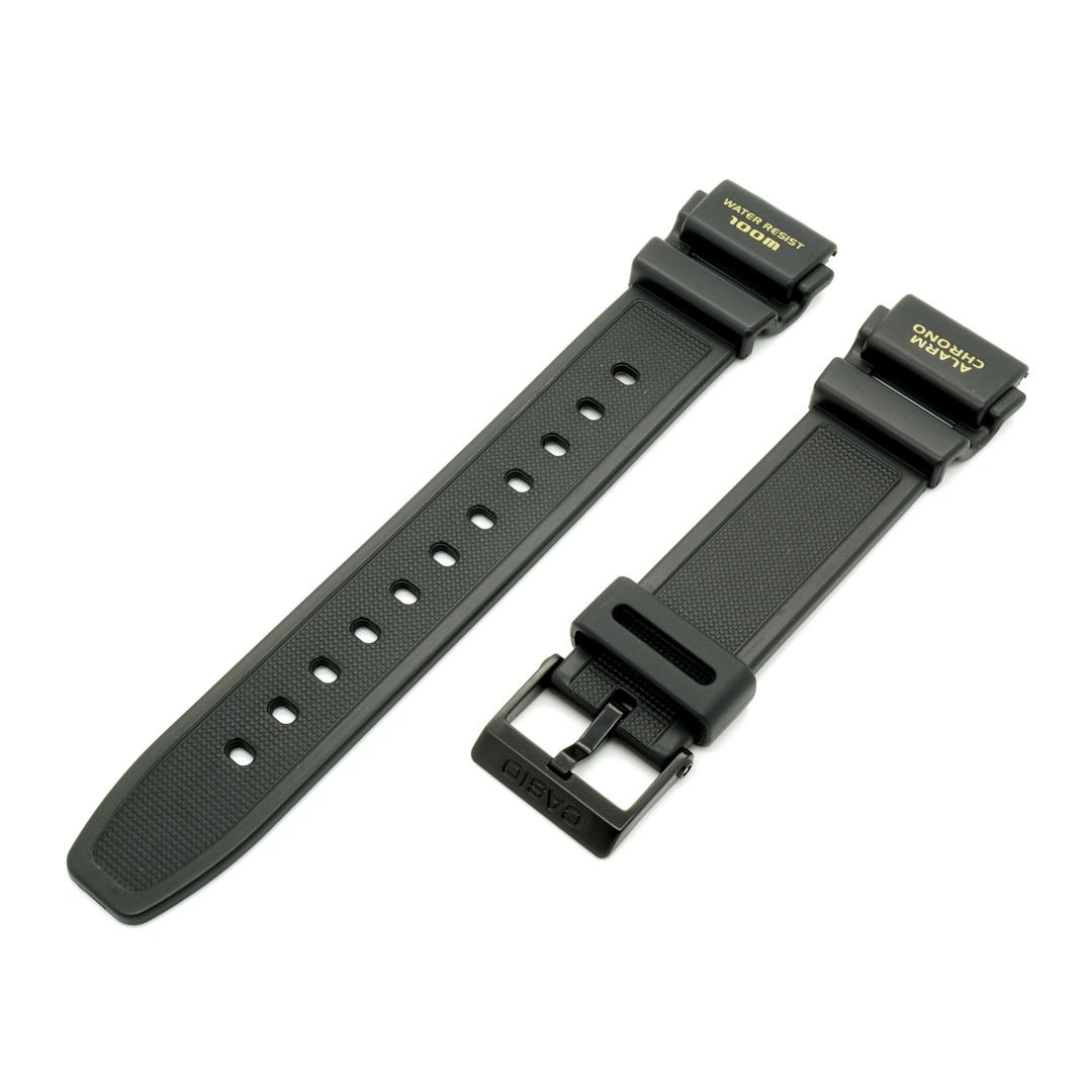 CASIO 71607575 Resin Watch Band for Ana-Digi Chronograph AQ-150 AQ150 AQ150W-1EV