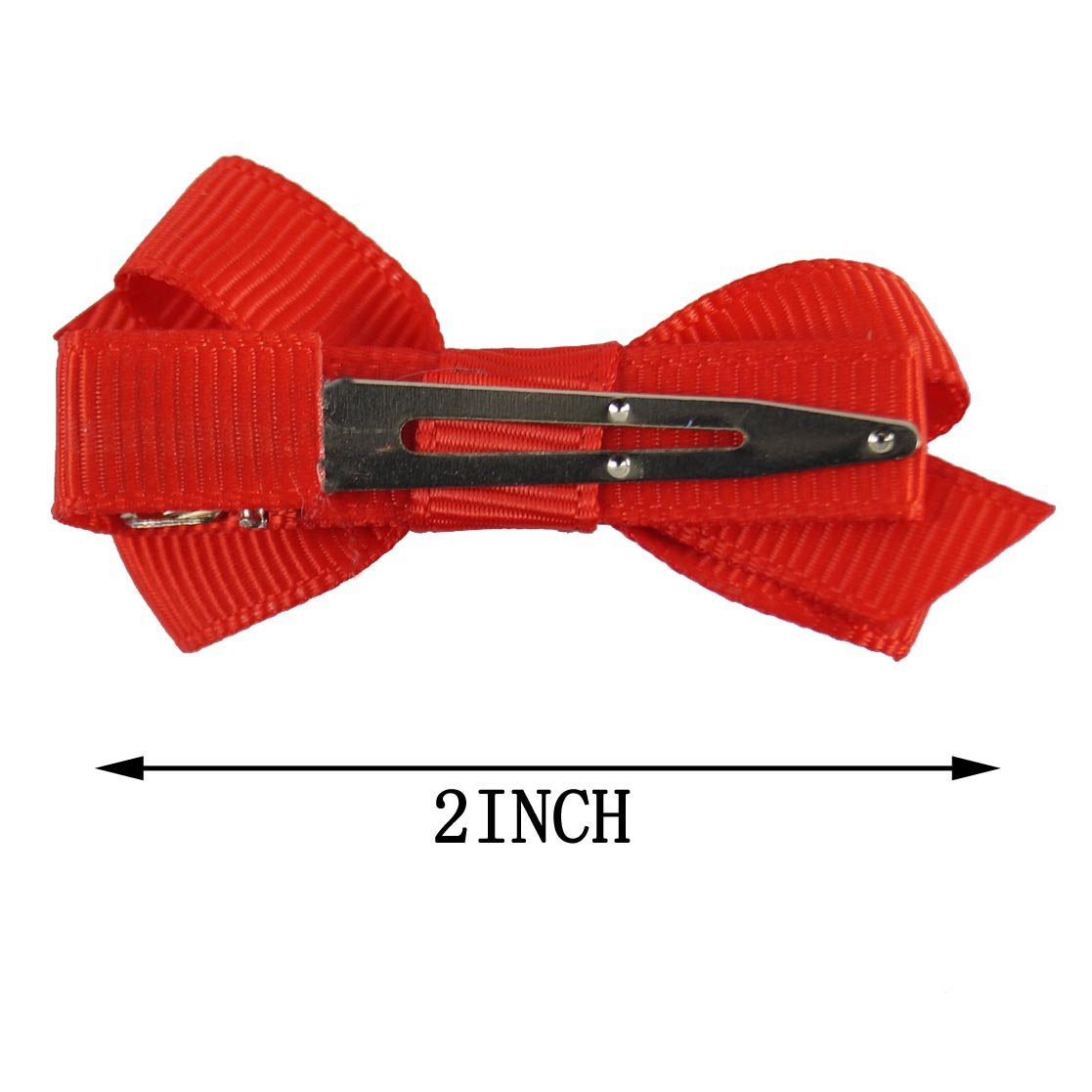 CN Boutique Baby Girls Hair Bows Alligator Clips Grosgrain Ribbon Barrettes For Teens Kids Toddlers 15 Colors 30pcs by C.N. (Image #2)
