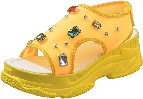 Darringls Sandalias para Mujer,Zapatillas Moda escarpín Sandalias ...