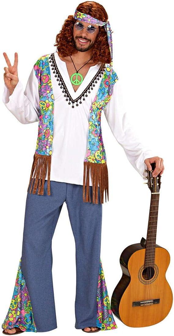 Horror-Shop Disfraz de Hombre Hippie Gr. XL: Amazon.es: Juguetes y ...