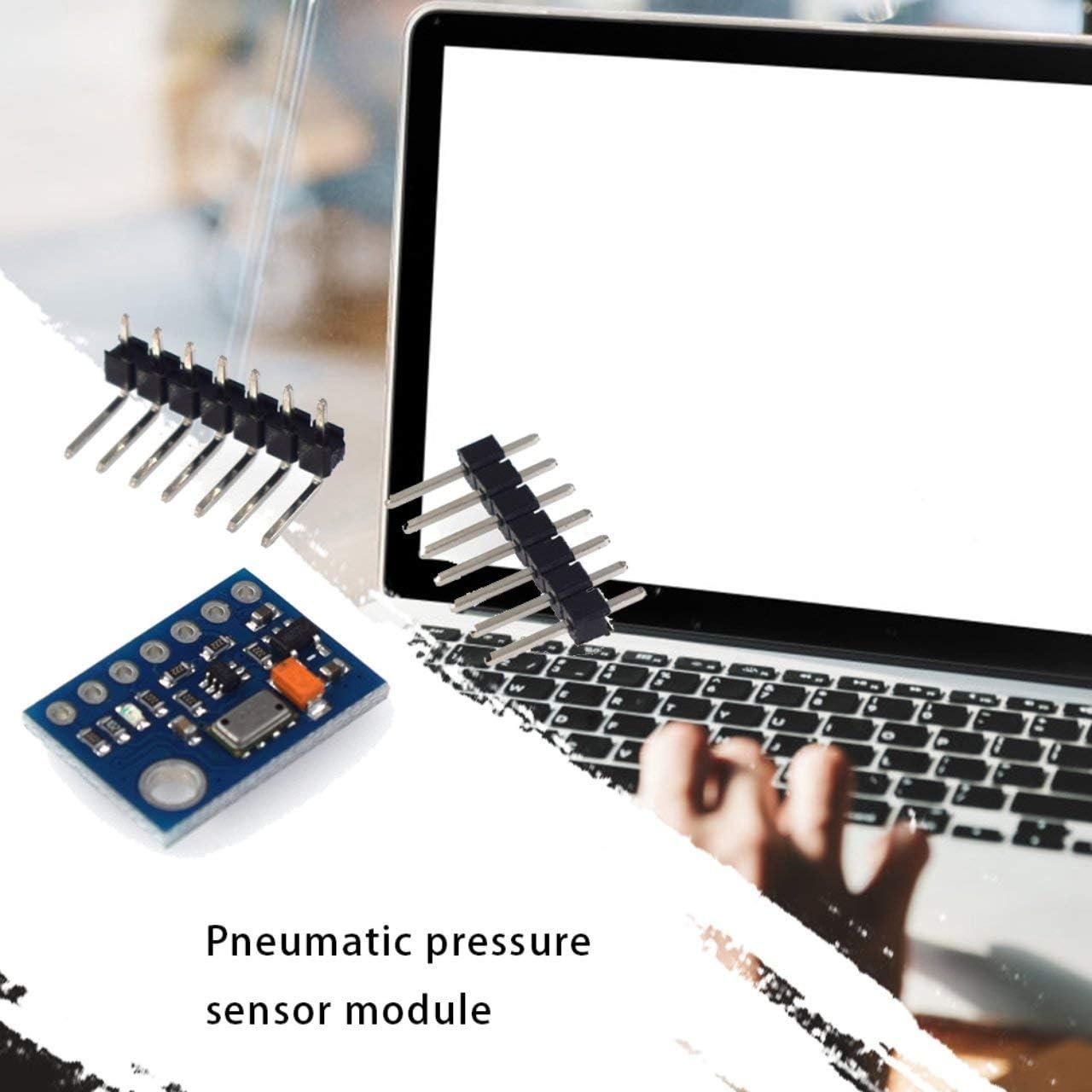 Jasnyfall blue /& black /& silver HW-291 MS5611-01BA03 GY-63 MS5611 Atmospheric Pressure Sensor Module Electronic DIY Board IIC SPI 24Bit AD PCB