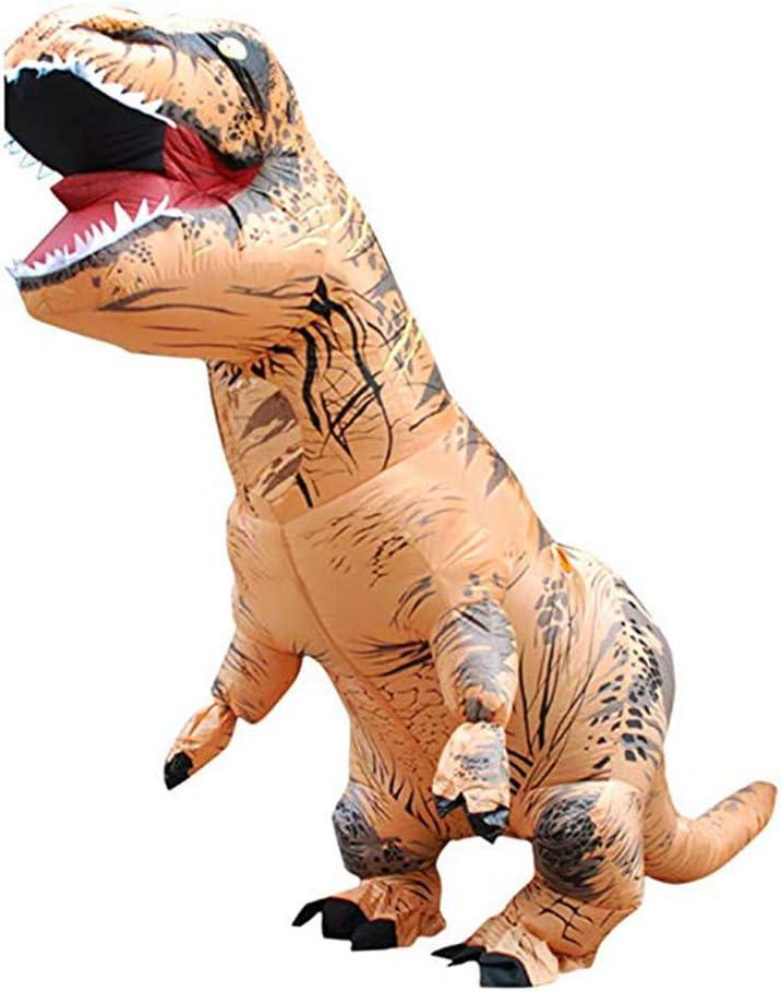 Eupaja - Disfraz inflable de dinosaurio para adulto, disfraz de Navidad, cosplay, regalo para Halloween