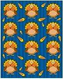Carson Dellosa Turkeys Shape Stickers (168017)