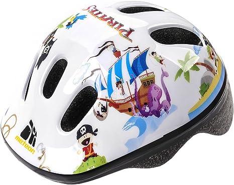 Casco de seguridad pequeño de bicicleta, para niños, color pirata ...