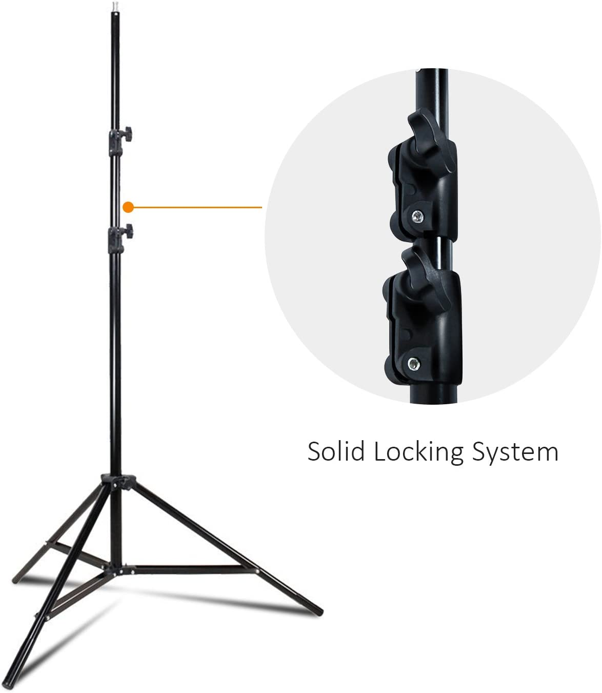 Lights JSAG397 Max 86 Height for Reflectors Julius Studio Adjustable Photography Tripod Light Stand with Min 50 Umbrellas for Photo Video Studio and Product Portrait Shooting Softboxes