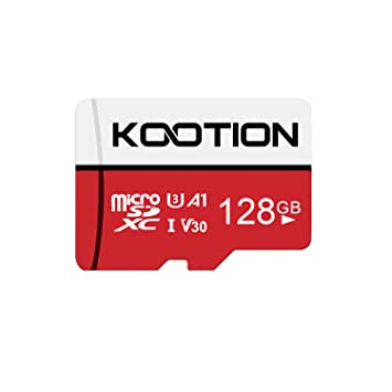 KOOTION Micro SD 128GB Clase 10 Tarjeta de Memoria Micro SDXC (U1 y A1 Tarjeta MicroSD TF Card Alta Velocidad de Lectura hasta 100 MB/s, para ...