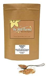 Be Still Farms Organic Steel Cut Oats (5lb) Organic Oats for Oatmeal - Naturally Gluten Free Oats - Steel Cut Oats Bulk ideal oats for making Organic Oatmeal bulk - Diet Oatmeal, Salvado de Avena