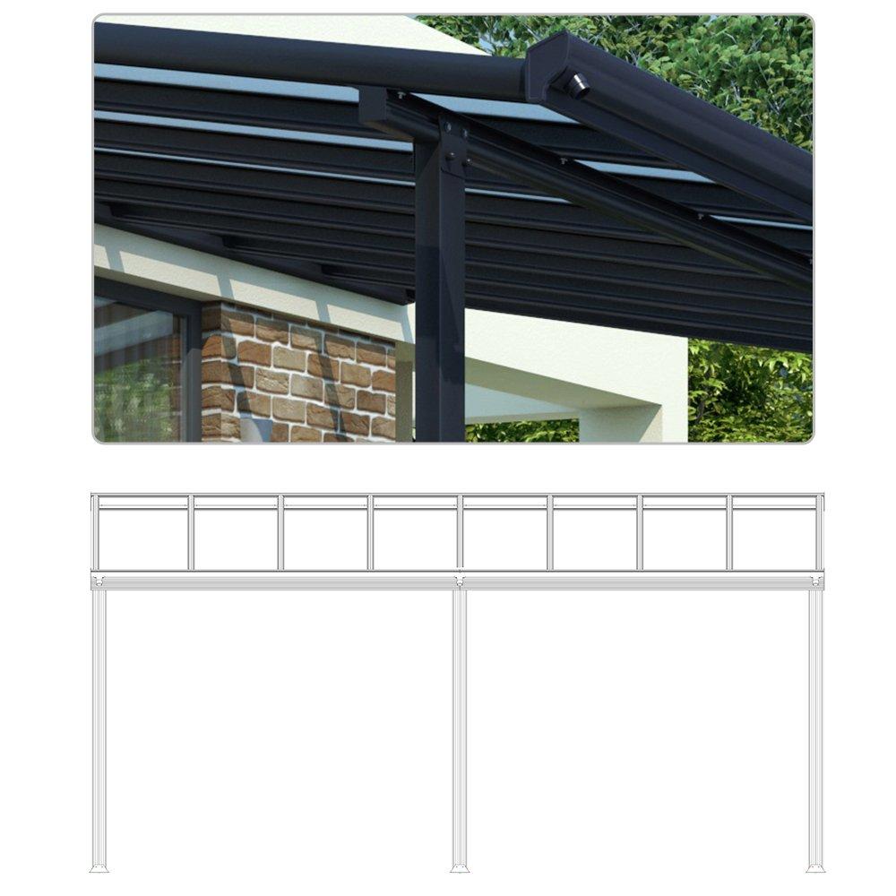 Beeindruckend Pergola Dach Das Beste Von Terrassendach Alu Terrassenüberdachung Überdachung Veranda Carport 557x303: