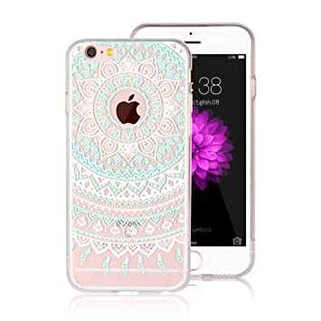 DENDICO Funda iPhone 6 Plus Carcasa iPhone 6s Plus Silicona Ultra Delgado de Estuche Funda Transparente Suave TPU para Apple iPhone 6 Plus / 6s Plus ...
