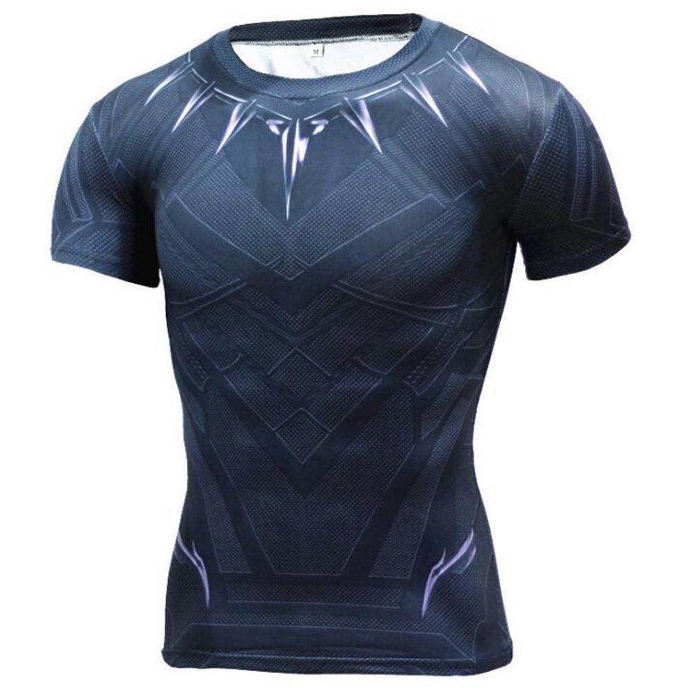 Amazon Jecool Black Panther T Shirt Civil War Tee 3d Printed T