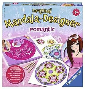 Ravensburger 2 in 1 Mandala Designer 29987 Romántico - Set para crear diseños decorativos [importado de Alemania]