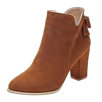 Martin zapatos de tacón alto de mujer,Sonnena Botas de arco con punta en punta