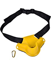 Dilwe Ceinture de combat de pêche Réglable Ceinture de porte-canne à pêche en plastique durable ceinture de support de canne à pêche