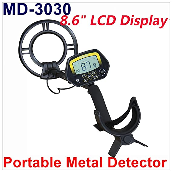 Amazon.com : IHandMade Metal Detector MD3030 Quick Shooter Lightweight Professional Detectors Underground Treasure Hunter LCD Display Gold and Jewelry ...