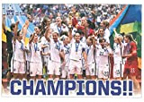 US Women's National Soccer Team ''Champions'' Poster