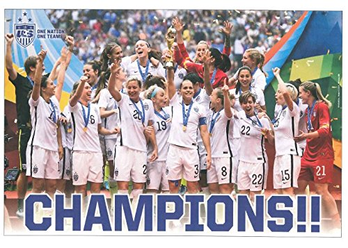 US Womens National Soccer Team Poster 2015 (Us Womens National Team)