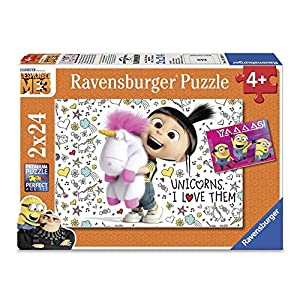 Ravensburger Universal: Despicable Me3 2 x 24 Piece Jigsaw Puzzle for Kids – Every Piece is Unique, Pieces Fit Together…
