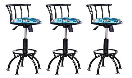 Astounding Amazon Com Set Of 3 Adjustable Height Stools 24 29 Cjindustries Chair Design For Home Cjindustriesco