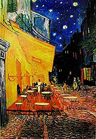 Amazon De Close Up Terrasse De Cafe La Nuit Poster Vincent Van Gogh