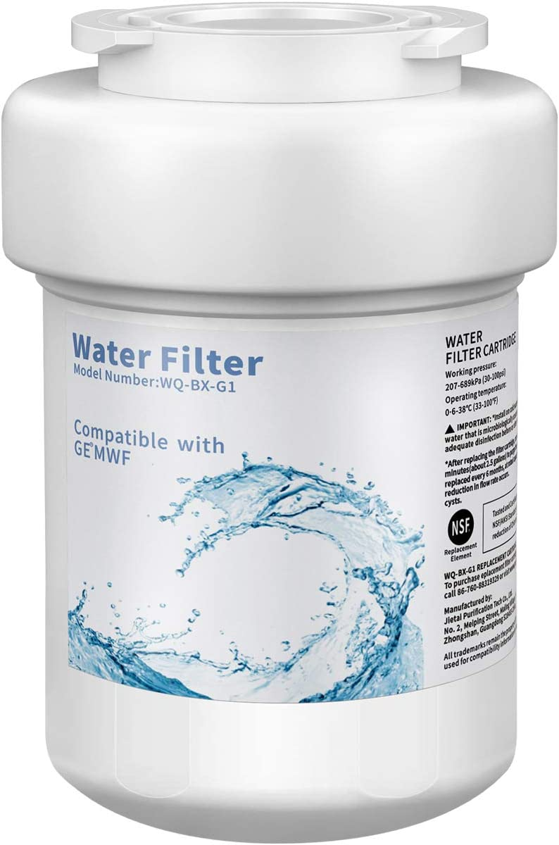 CLANORY MWF Refrigerator Water Filter, MWF Water Filter for GE Refrigerator (1Pack)