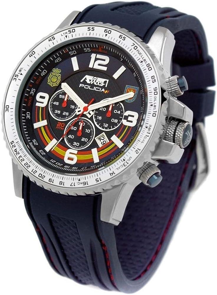 Reloj Aviador AV-1106 Policía UIP Edición Especial de la UIP ...