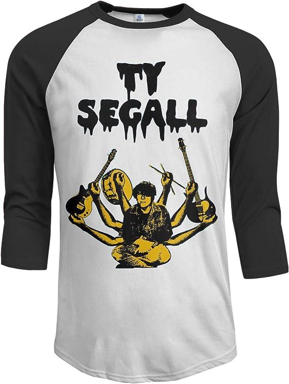 Amazon.com: SHGDI Ty Segall Mens Raglan Sleeves Baseball