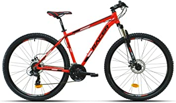 RACER 2665403031 - Bicicleta MTB 29p 290 fd TL. Rojo: Amazon ...