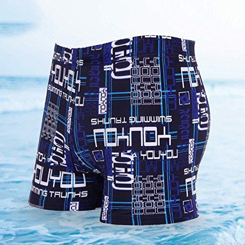 ZQ@QXBoxer Homme fashion grande taille Hot spring natation pantalon, 2xl