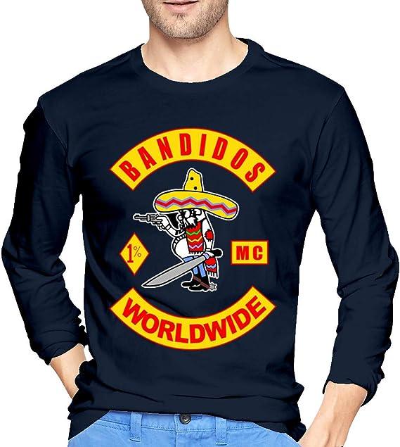 Bandidos Motorcycle Club Mc - Camiseta de manga larga para ...
