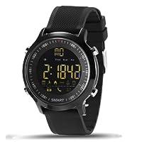 Relógio Smartwatch Ex18 Academia Corrida Ip67 Notificações Monitor Calorias Pedômetro (PRETO)