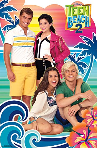 Trends International Teen Beach Movie 2 Group Wall