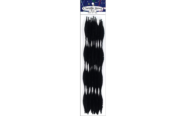 PA Essentials ADB1097.2 BumpChenille1212pcBlack Black