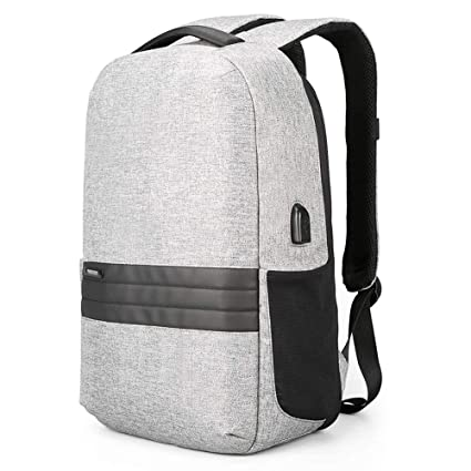 85eb23f7349d Kingsons Anti Theft Travel Backpack 15.6 inches Lightweight Men's Casual  Daypack for Business Laptop Backpack USB Charging Port Trave Laptop Bag