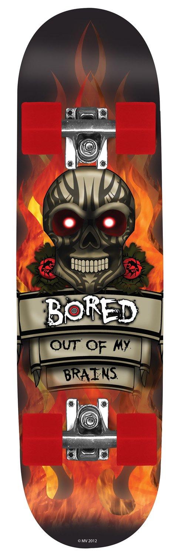 ファッションなデザイン Bored of Kids Out of My Brains Multicoloured, Bored Skateboard - Multicoloured, 79x20cm by Bored B00DSJ4O1Q, 佐倉市:0d2a8d39 --- a0267596.xsph.ru
