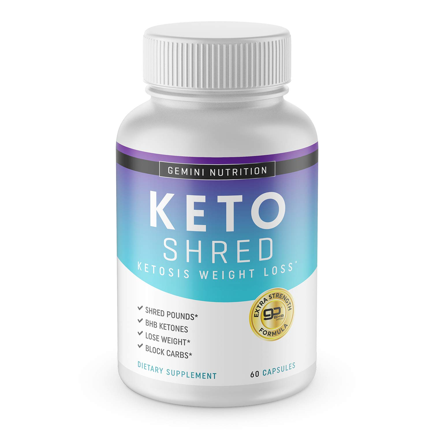 Keto Pills for Weight Loss, Extra Strength Formula- Dietary Supplement, 60 Capsules by Rich Labs LLC