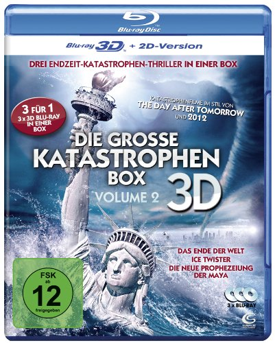 The Great Disasters (Vol. 2) - 3-Disc Set ( The 12 Disasters of Christmas (The Twelve Disasters of Christmas) / Ice Twisters / End of the World ) (3 [ NON-USA FORMAT, Blu-Ray, Reg.B Import - Germany ]