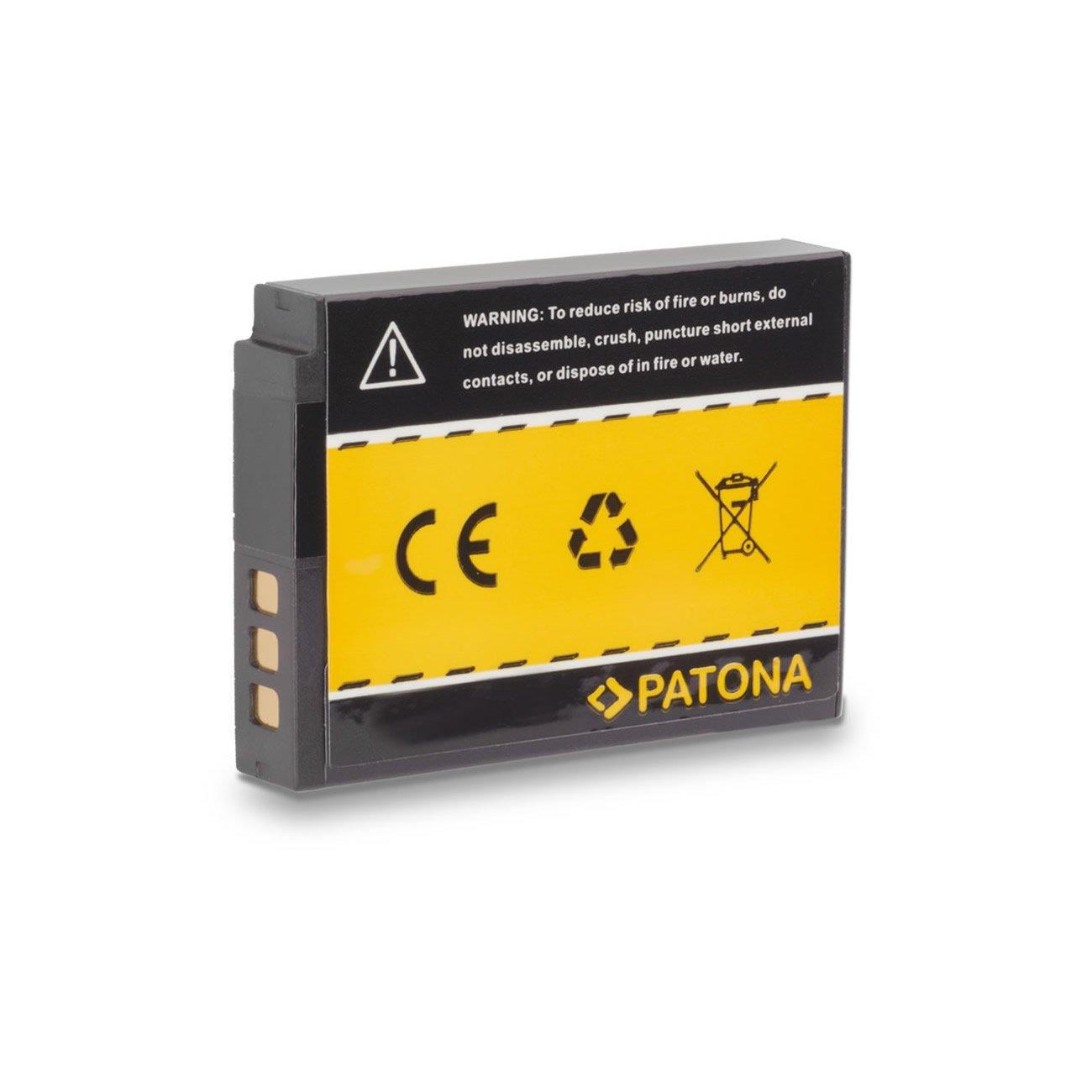 PATONA 2X Bateria EN-EL12 Compatible con Nikon CoolPix AW100 P300 S70 S610 S800c S1000pj