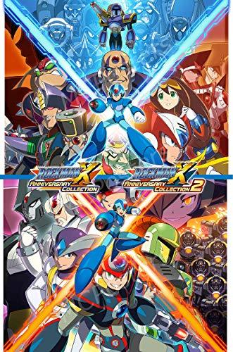 PremiumPrintsG - Mega Man Anniverary Collection 1 2 PS4 Xbox ONE Switch Poster - XNVG266 Premium Canvas 11
