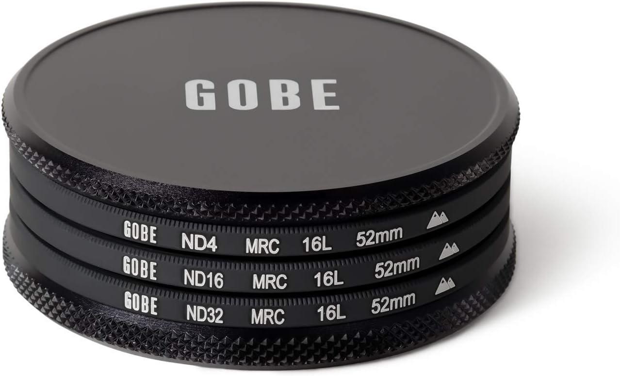 ND32 Gobe ND Filter Kit 37mm MRC 16-Layer ND16 ND4