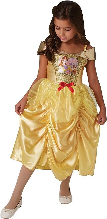 multicolore Rubie s 640824S ufficiale Disney Princess paillettes Jasmine Classic costume Girls altezza 104/cm Childs dimensione piccola et/à 3/ /4/anni