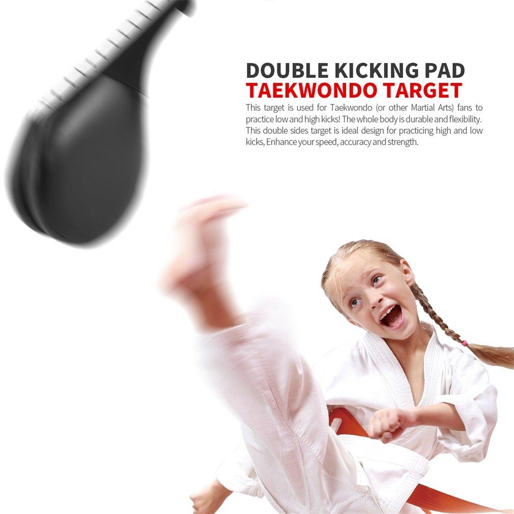 OUTAD Taekwondo Double Kick Pad Target Karate Kickboxing Martial Arts Foot Training